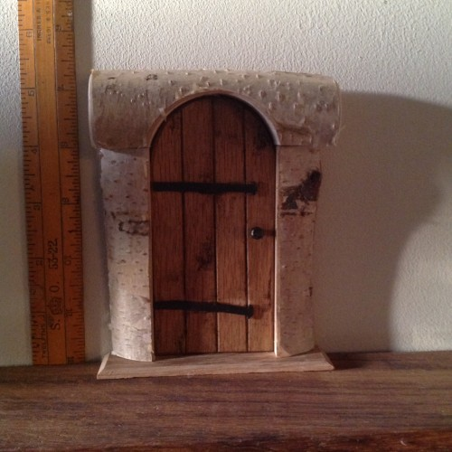 Fairy oval door